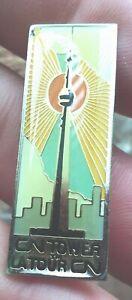 CN Tower lapel pin badge LATour CN Toronto Ontario Canada