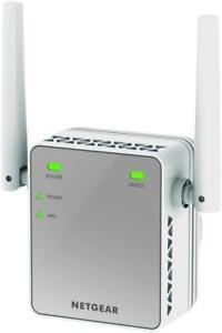netgear n300 wifi range extender plug in booster internet wireless range