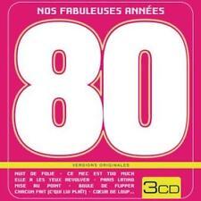 Nos fabuleuses années 80 - Coffret métal 3 CD - Neuf Emballé - Version originale