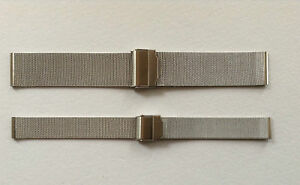 FINE MESH STAINLESS STEEL WATCH STRAP 10MM TO 24MM FITS SKAGEN/BERING/ETC