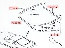 Genuine Mitsubishi Hatchback Liftgate Lower Reveal Molding Clip SET  3000GT