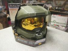 HALO Master Chief Adult Light-Up Deluxe Helmet new old stock package wear