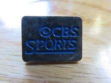 "Vintage Cbs Sports .75"" Pin Baseball Basketball Football"