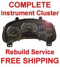 CHEVY TRAILBLAZER Speedometer Gauge Instrument Cluster Gauge and Display REPAIR