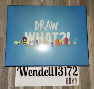 Draw What?! Epic Party Adult Board Game Brand New Sealed!!!