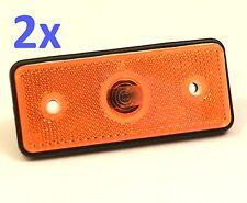 2 x MERCEDES SPRINTER VOLKSWAGEN LT 1996 - 2006 SIDE MARKER LIGHT LAMP 110x45mm