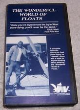 The Wonderful World of Floats VHS Video float plane flying Dick Matt instruction
