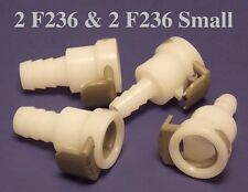 2 F236-SMALL + 2 F236 Air Bed Leak Repair Kit for Sleep Number® Bed 4 Hose Pumps