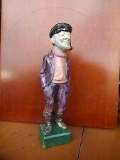 Old Fisherman Atlantic Mold Hand Painted Figurine