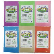 Smooshy Sand Eco Magic Sand, Kinetic, Moving, Play Sand 7 Colours 485g / 1kg Bag