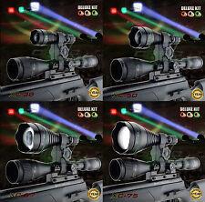 Opticfire® XC 3 LED Deluxe scope mount gun light hunting torch lamping kit lamp