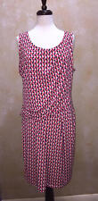 Worthington Geometric Print Sleevless Dress Business Casual Size XL NWOT