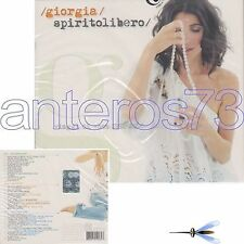 "GIORGIA ""SPIRITO LIBERO"" BOX 3 CD + 1 DVD -MINA ELIO RONAN KEATING PINO DANIELE"