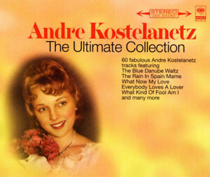 Andre Kostelanetz The Ultimate Collection 3-Disc Set Fat Pack CD Album VG-EXC