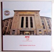 2009 NEW YORK YANKEES AVIS PUZZLE NIB -7/22/09 1ST YEAR NEW STADIUM GIVEAWAY SGA