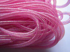 """10Y Poly Mesh Tube Tubing Deco Poly Flex Ribbon 3/8""""(8mm)-U PICK HW004"""