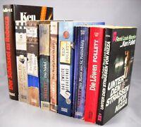 9 x Ken Follett - historische Romane Thriller Bücherpaket Sammlung Bücherkiste