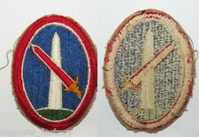 Patch original WWII USA Military District of Washington ( 008 )