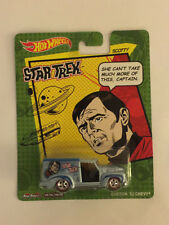 Star Trek Scotty CUSTOM '52 CHEVY - 2013 Hot Wheels Die Cast Car - Mint on Card