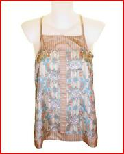 Bnwt French Connection 100% Silk Blouse Strappy Top UK6 Fcuk RRP£50 Xxsmall