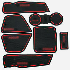High Quality Interior Non-slip Door Cup Holder Rubber Mats For Ford Focus 09-13