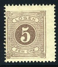SWEDEN SCOTT# J3 POSTAGE DUE MINT HINGED AS SHOWN