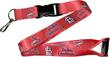 St. Louis Cardinals Break Away Lanyard with Double Sided Logo Graphics