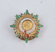 Spain Order of Agricultural Merit breast star miniature