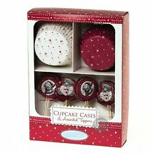 Carte Blanche Me To You Tatty Teddy Christmas Cupcake Cases & Toppers Set 24pcs