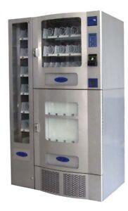 BRAND NEW IN BOX UNUSED OFFICE DELI 3-PIECE COMBO SODA / SNACK VENDING MACHINE