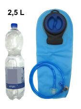 Trinkblase 2,5 Liter Trinkbeutel Trinksystem Wassersack H2O Bag Trinkbag