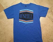 O'neill Classic Short Sleeve Graphic Tee Shirt Cotton Blue S