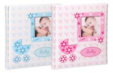 Baby Buggy Kinderalbum 29x32 cm 60 Seiten Babyalbum Foto Album