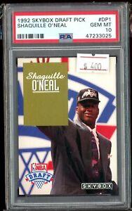 1992 SKYBOX DRAFT PICK SHAQUILLE O'NEAL ROOKIE CARD RC #DP1 PSA 10 GEM MINT