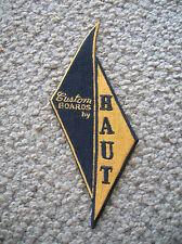 Vintage doug haut surfing surfboard jacket patch 1960s longboard santa cruz surf