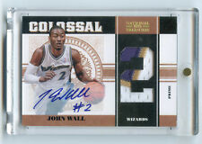 2010-11 National Treasures JOHN WALL Rookie RC Patch Auto 4/12 RPA!