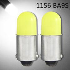 2X 1156 BA9S P21W COB 12V LED Car Backup Reverse Indicator Turn Light Lamp B TRF