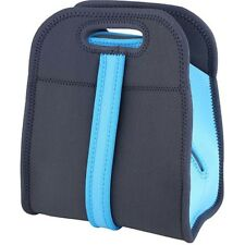 Bolsa porta alimentos 22.5x14x27cm neopreno Walking Azul/gris / Bergner