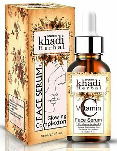 Srotam Khadi Herbal Kumkumadi Oil Night Face Serum For Young & Healthy Skin 30ml