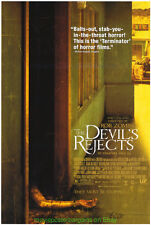 THE DEVIL'S REJECTS MOVIE POSTER Original  27x40 Sequel To HOUSE OF 1000 CORPSES