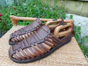 Oliver Sweeney Mens Leather Sandals. Size 10.