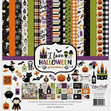 """Echo Park 12"""" X 12"""" Paper Collection Kit I Love Halloween NEW"""