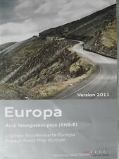 Audi Navigation  A3/A4/A6/ TT Navi Plus 2011 RNS-E  Deutschland+ALPEN OSTEUROPA
