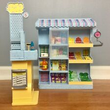 BARBIE HAPPY FAMILY SUPERMARKET PLAYSET Grocery Store Food VHTF RARE