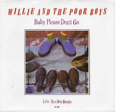WILLY AND THE POORBOYS  Baby Please Don't Go 45 with PicSleeve  ROLLING STONES