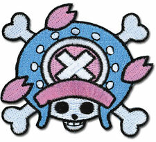 Patch - One Piece - New Chopper Pirate Skull Iron-On Anime Licensed