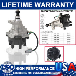 Ignition Distributor System For Nissan Pathfinder Frontier Xterra SE 3.3 96-2004