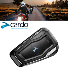 Cardo Scala Rider Freecom 4 Single Motorcycle Bluetooth 4.1 Headset Intercom Set