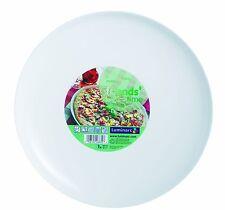 servizio 6 Piatti pizza Luminarc in vetro opale bianco 32cm  Friends' Time