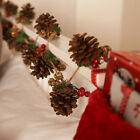 Handmade Garland Pine Cone & Berry 2m Traditional Christmas Decoration Ornaments